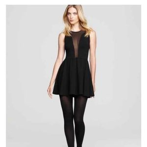 For love and lemons black dress